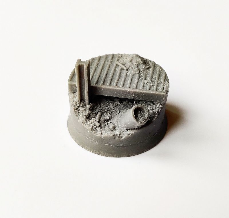 32mm Trench Warfare  Character Base 2